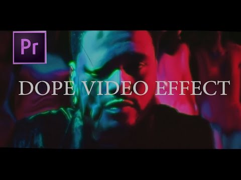 HOW TO MAKE A DOPE MUSIC VIDEO: The Weeknd - Party Monster Music Video Effects  -TUTORIAL