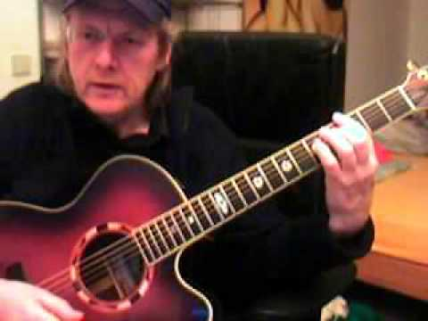 Dido White Flag Guitar Lesson By Siggi Mertens.wmv