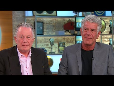 Thumbnail: Chefs Anthony Bourdain and Jeremiah Tower on new documentary