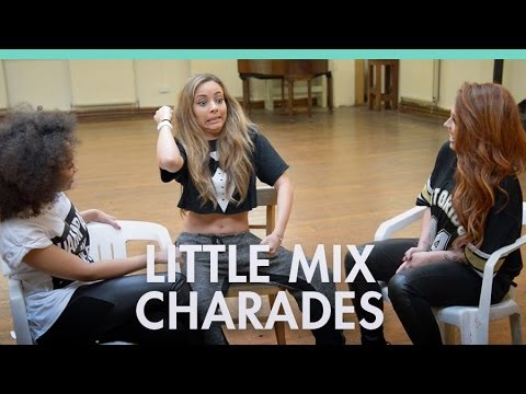 Little Mix play set list charades