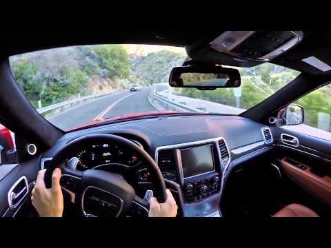 2014 Jeep Grand Cherokee SRT - WR TV POV Test Drive
