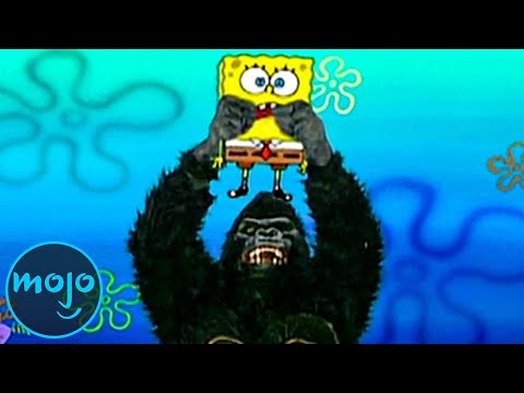 Top 10 Times SpongeBob Squarepants Broke the 4th Wall