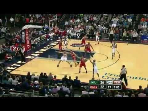 NBA Milwaukee Bucks Vs New Jersey Nets Highlights Feb 19, 2012 Game Recap