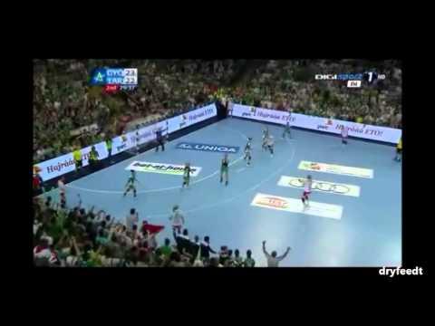 Győri Audi ETO KC - Larvik 23-22 (BL Döntő utolsó 2 perc+kupaátadás) - 2013.05.11.