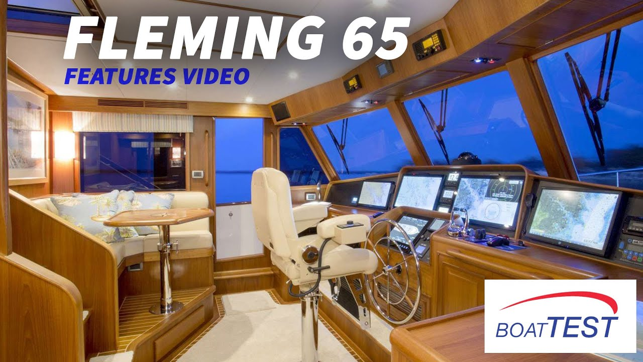 Download Fleming Yachts 65 (2020) - Features Video