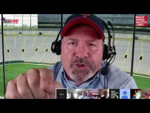 "RWW News: Dave Daubenmire Says Athletics Are ""Homo Bait"" That Recruit Girls Into Lesbianism"