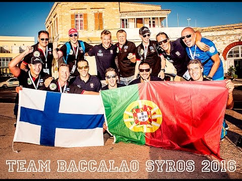 TEAM FINLAND SYROS SPEARFISHING WORLD CHAMPIONSHIPS 2016