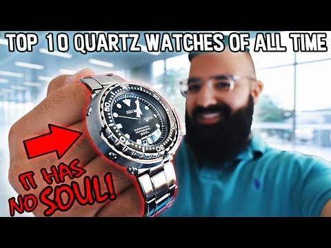 Top 10 Quartz Watches Of All Time!