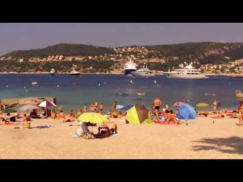 """Saint-Jean-Cap-Ferrat  """"La plage de Passable"""""""
