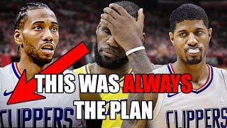 How Kawhi Leonard & Paul George SABOTAGED The Lakers By Going To The Clippers (Ft. NBA Free Agency)