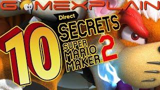 10 Secrets in the Super Mario Maker 2 Direct (Easter Eggs)