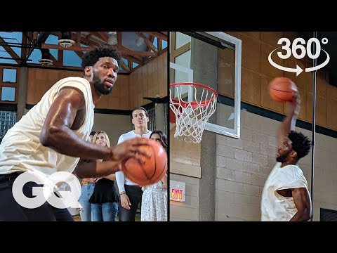 The Joel Embiid 360-Degree Experience | GQ