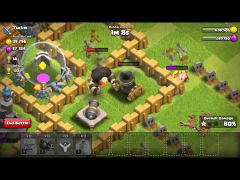 Barbarians rally experiment in coc