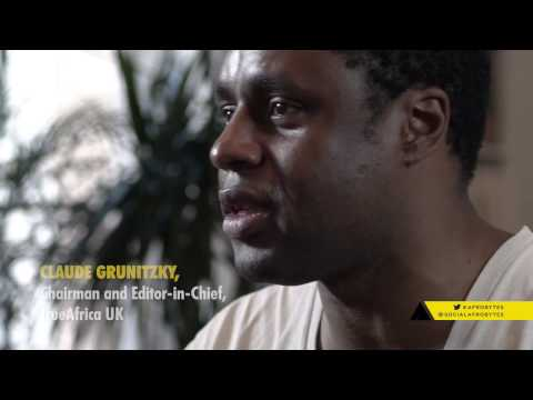 Claude Grunitzky,True Africa, interviewed during Afrobytes Conference