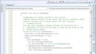 Microsoft LINQ allows for database style queries against object dat...