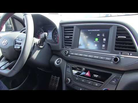 2018 Hyundai Elantra Sport Overview Must watch Shows Paddle Shifters