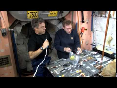 Eating on the Space Station