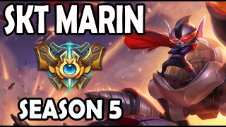 SKT T1 MaRin Rumble vs Gnar TOP Ranked Challenger Korea