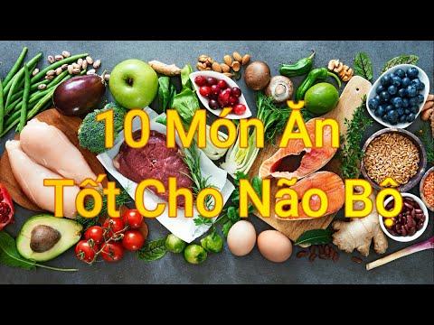 10 Món ăn hàng đầu tốt cho não bộ