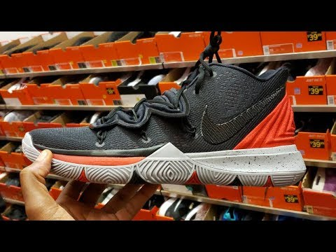 9efc663d663a NIKE OUTLET FINDS  KYRIE 5  BRED  SNEAKER AT THE NIKE FACTORY STORE ...
