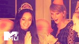 taylor swift throws fifth harmony s camila cabello an awesome 18th birthday party   mtv news