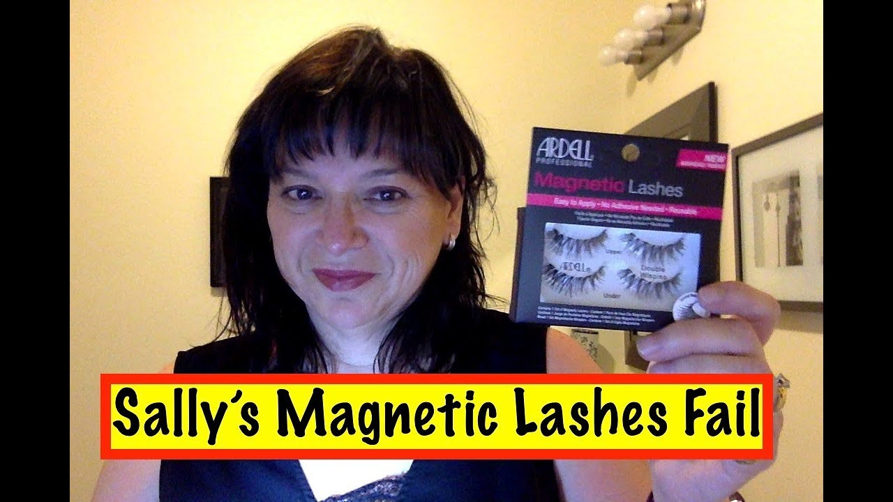 0830fdc54d6 Sally's Magnetic Lashes Fail - YouTube