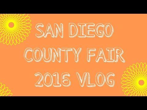 San Diego County Fair Vlog 2016 | sheilabere ♡