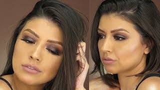 Sultry Smokey Eyes | Makeup Tutorial Feat. ABH Soft Glam