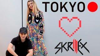 Токио и встреча со Skrillex