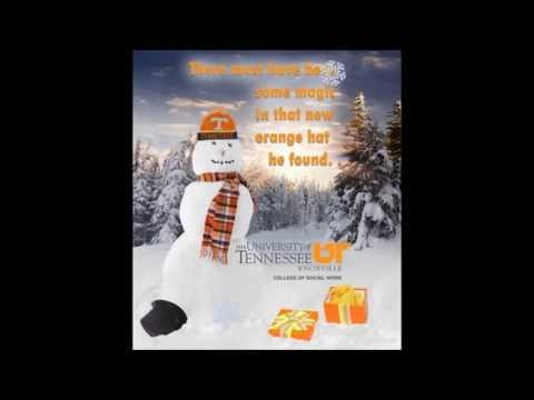 Happy Holidays from the University of Tennessee College of Social Work