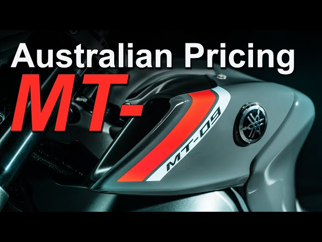 2021 Yamaha MT Range and Tracer 9 GT Australian Pricing & Availability
