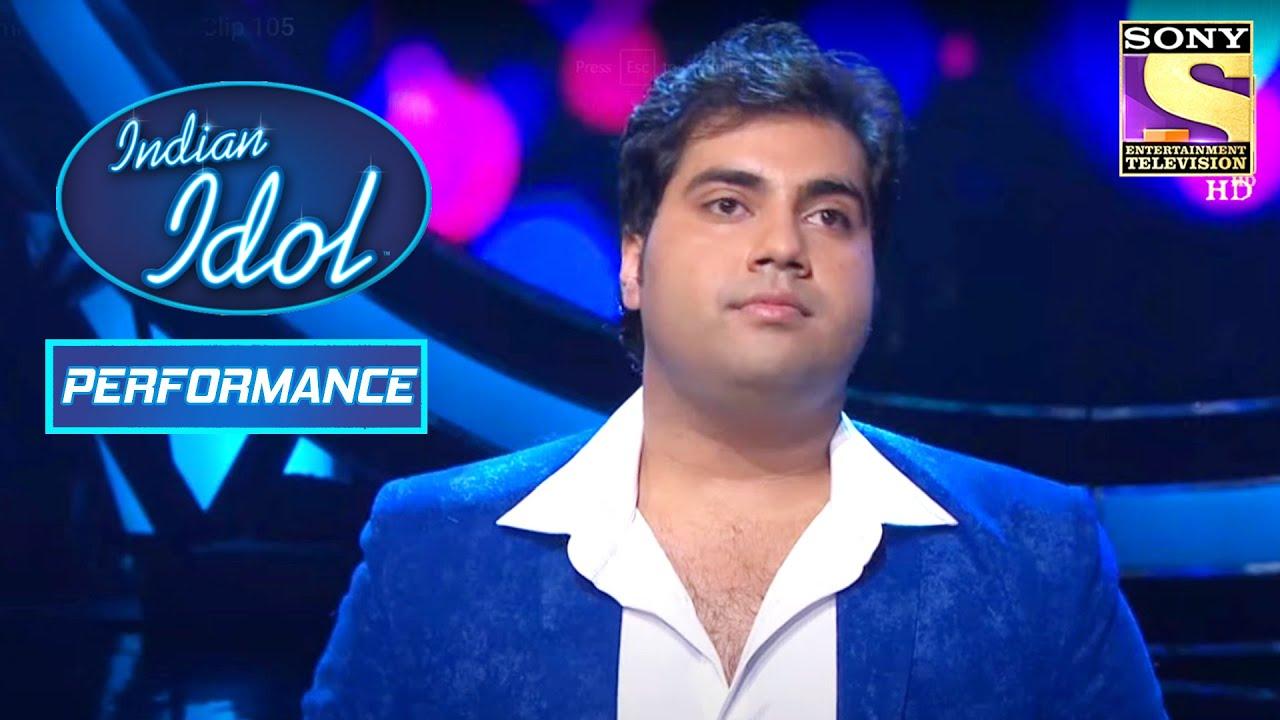 Vipul का Mindblowing Performance | Indian Idol Season 6 - YouTube
