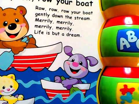 Kindergarten Storybook Rhymes In English, Electronic Book  By FisherPrice