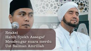 Qori\x27 Ust Salman Amrillah Membuat Habib Syekh Hanyut dalam Lantunan Ayat Suci Al-Quran