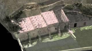 Ricostruzione 3D Santuario di San Lussorio - Romana