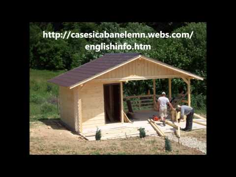 Construim case si cabane de lemn