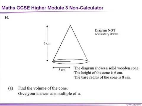 GCSE Maths Unit 3 Higher Practice papers Non Calculator - YouTube