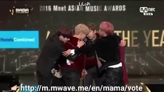 [VIETSUB] BTS nhận giải Daesang MAMA 2016 - ARTIST OF THE YEAR