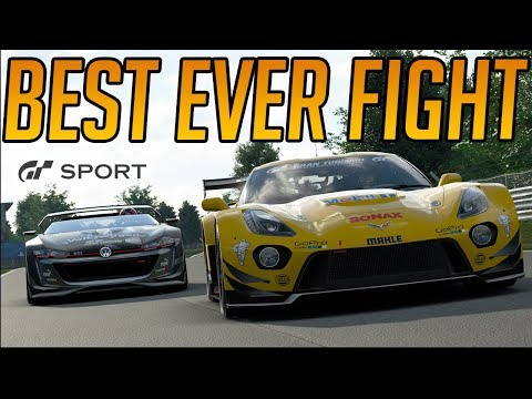 Gran Turismo Sport: My Best Ever Fight