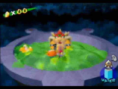 Super Mario Sunshine Guide Corona Mountainbowser Battle Youtube