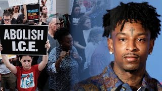 21Savage Is Apparently Out Of ICE Custody!
