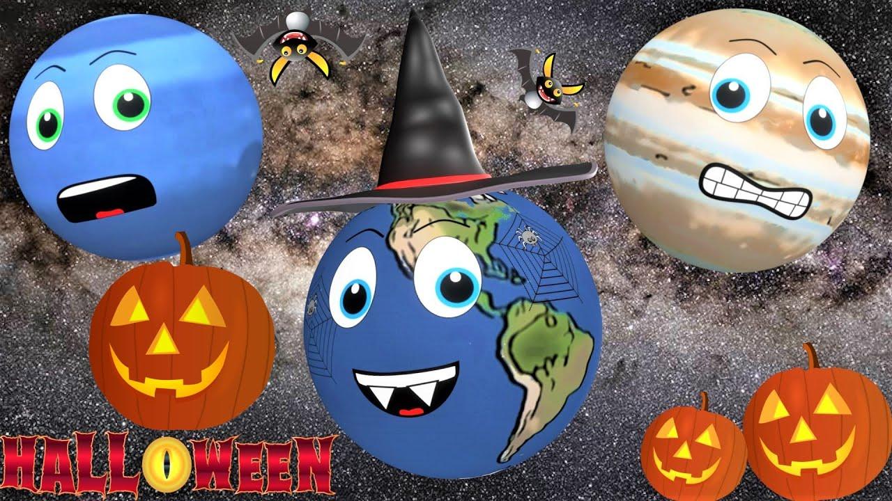 Planet Cartoon for Kids | Halloween for kids