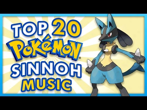 Top 20 Sinnoh Music Themes - Pokemon Diamond, Pearl and Platinum