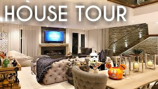 HOUSE TOUR | Night time Fall & Halloween Decor