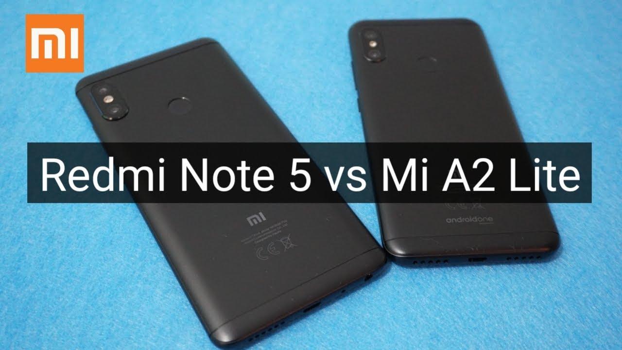 Xiaomi Redmi Note 5 Vs Xiaomi Mi A2 Lite Mobile Arena
