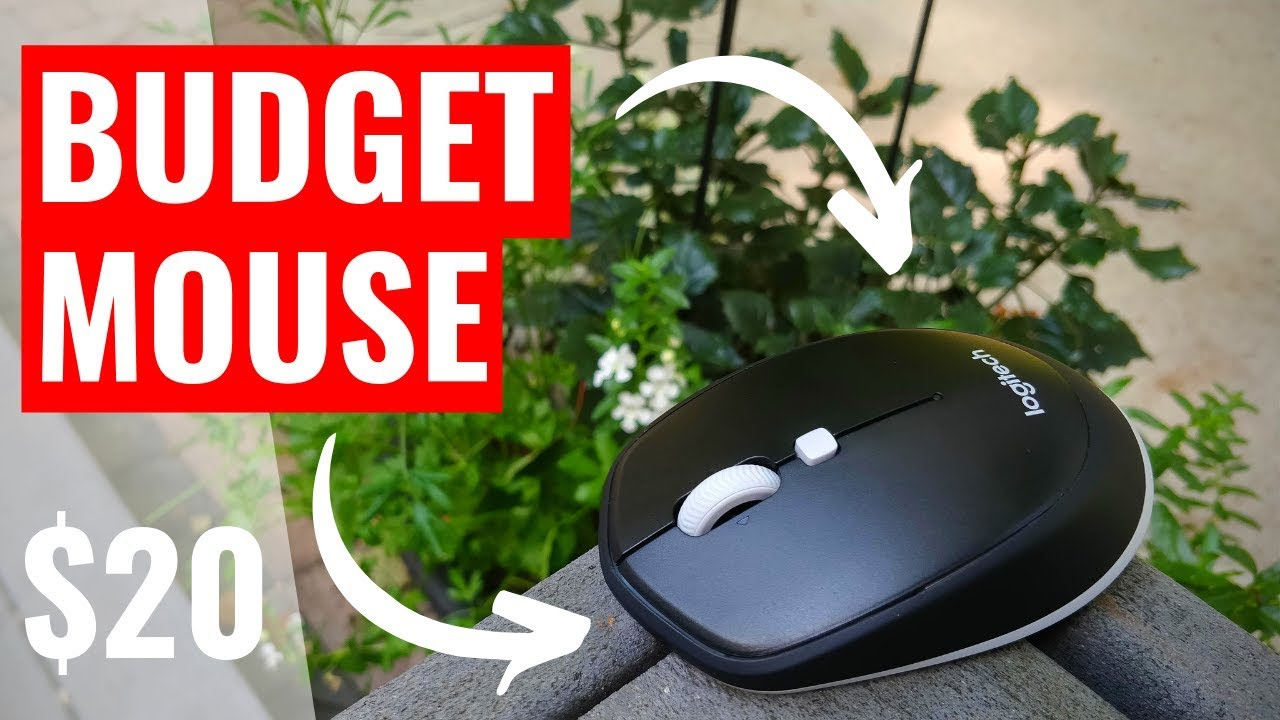 Logitech M535: Best Budget Bluetooth Mouse