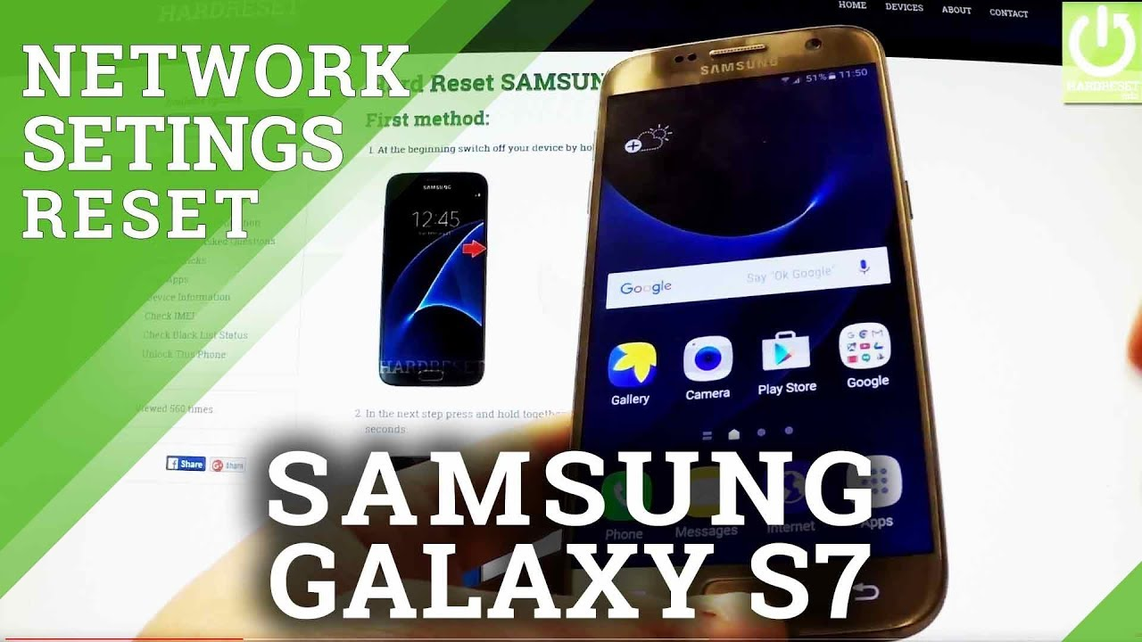 Reset Network Settings SAMSUNG J327P Galaxy J3 Emerge