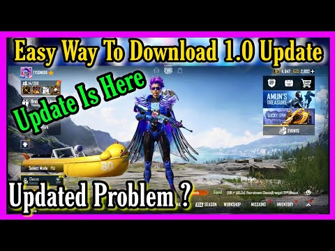 PUBG MOBILE HOW TO UPDATE 1.0 UPDATE | NEW ERA IS HERE |  TYSON NOOB GAMER|