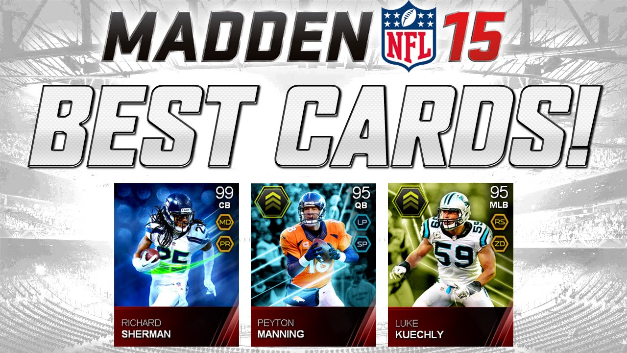 MUT 15 - 99 Overall Richard Sherman!   Best Cards In Madden 15 ...