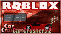 Getting A Token In Car Crushers 2 Roblox Car Crushers 2 Script